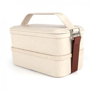 Silverfrost 2 Tier Lunch Box