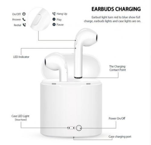 Wireless Bluetooth Earphone3